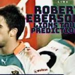 Robert Ebersohn's B & I Lions Tests predictions