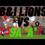 #savesouthafrica and British & Irish Lions vs South Africa 'A' chat and braai