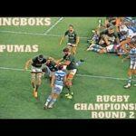 Rugby Championship Round 2: Springboks vs Los Pumas