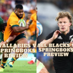 Review of the Second Test between SA and Aus Suncorp Stadium and preview of Springboks All Blacks